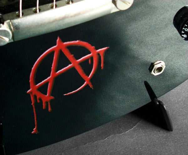 Bloody Anarchy Inlay Stickers Decals Guitar Bass - Inlay Stickers Jockomo