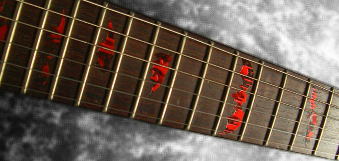 Bat Wings - Fret Markers for Guitars & Bass - Inlay Stickers Jockomo