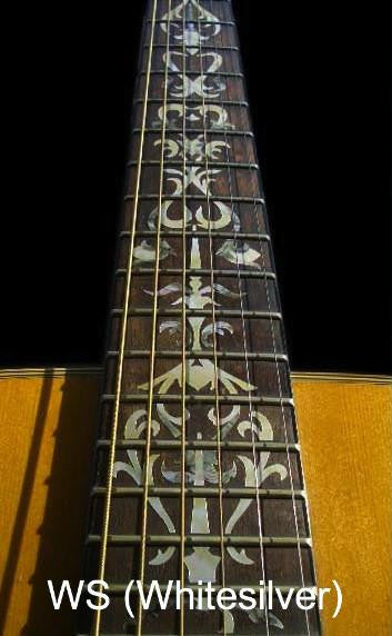 Tree Of Vine - Fret Markers Inlay Stickers for Guitars - Inlay Stickers Jockomo