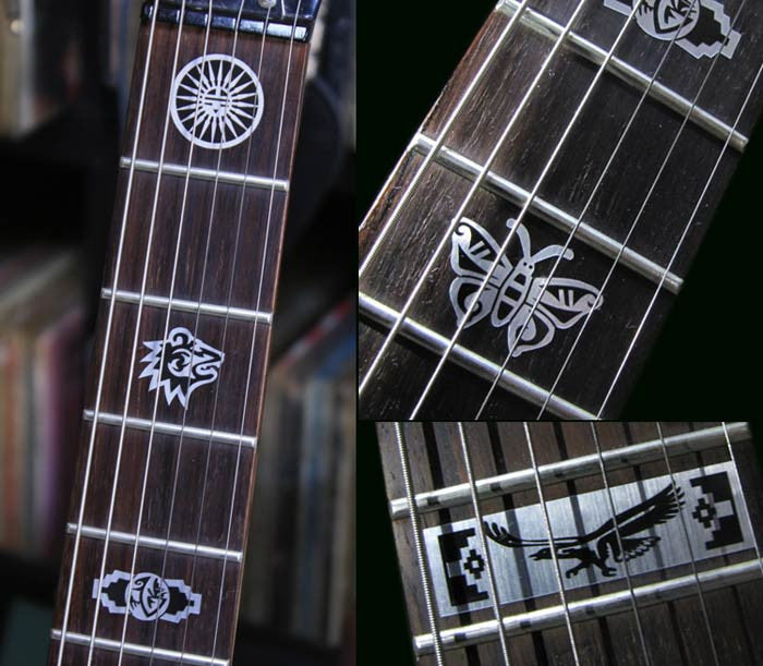 Hopi Symbols - Fret Markers Inlay Stickers Decals for Guitar - Inlay Stickers Jockomo