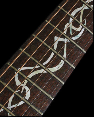 Gothic Vine Fret Markers Inlay Stickers Decals Guitar - Inlay Stickers Jockomo