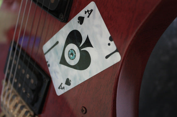 Ace of Spades & Eyeball - Inlay Stickers Jockomo