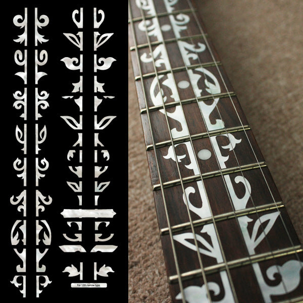 Bob Weir's Vine of Tree Fret Markers Inlay Stickers for Guitar - Inlay Stickers Jockomo