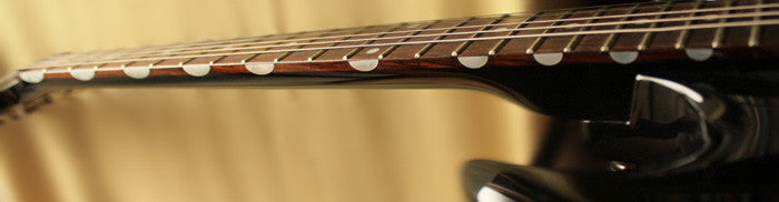 Fret Side Markers Inlay Sticker Thumbnail Half Moon For Guitar - Inlay Stickers Jockomo
