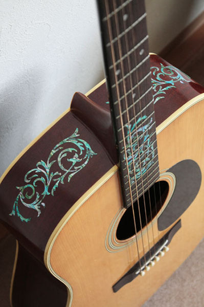 Ornamental Swirl Fret Markers Inlay Stickers For Guitar