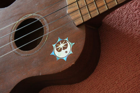 Sun, Moon & Star Symbol - Inlay Stickers Jockomo