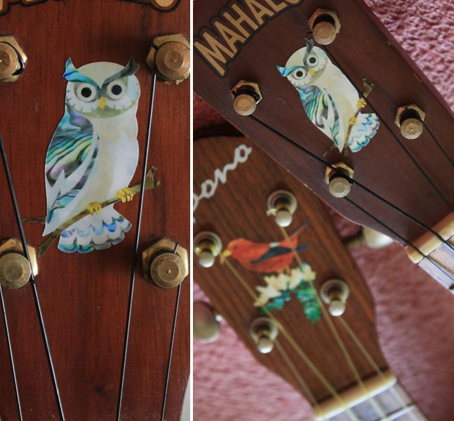 Owl of Athena - Inlay Stickers Jockomo