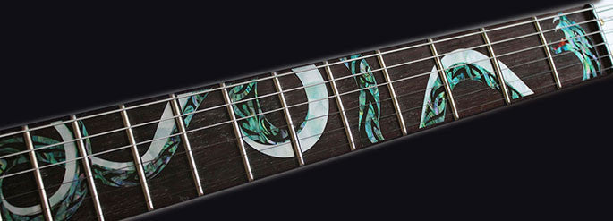 Twisted Snake Fretboard Markers Inlay Sticker For Guitar - Inlay Stickers Jockomo