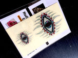 Mystic Eyes (large and small) Inlay Sticker Guitar & Bass