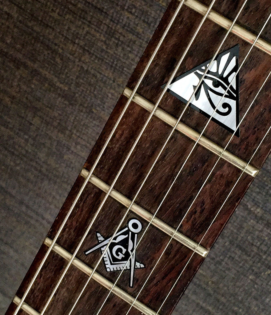 Religion Symbols - Fret Markers for Guitars & Bass - Inlay Stickers Jockomo