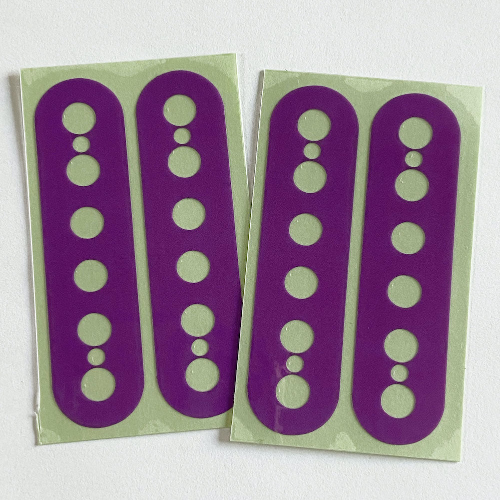 Pickup Stickers for Humbucker // Ibanez RG