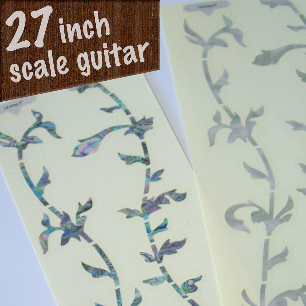27 inch / Tree Of Life - Fret Markers for Guitars - Inlay Stickers Jockomo