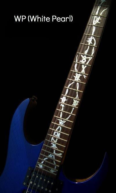 Barbed Wire Fret Markers Inlay stickers Guitar - Inlay Stickers Jockomo