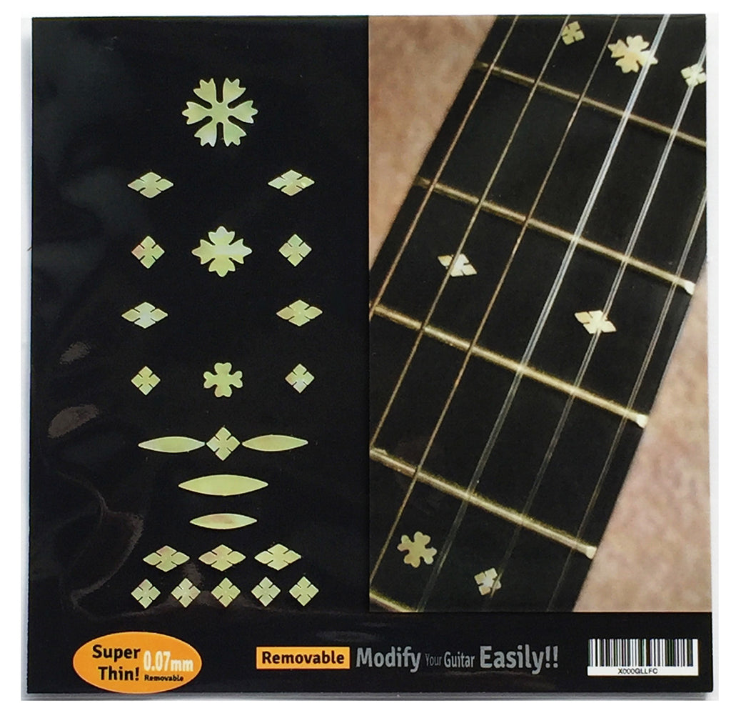 Vintage Snowflakes - Inlay Stickers Jockomo