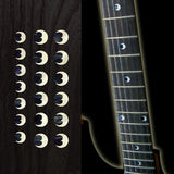 "Crescent Moon Dots 5/16""(6.35mm) Fret Markers Inlay Stickers Decals"