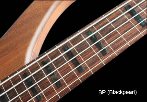 Jazz Bass Block Fret Markers for 5 String Bass - Inlay Stickers Jockomo