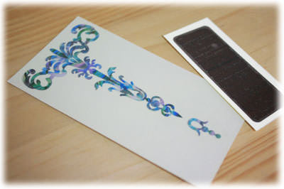 Gothic Torch - Inlay Stickers Jockomo