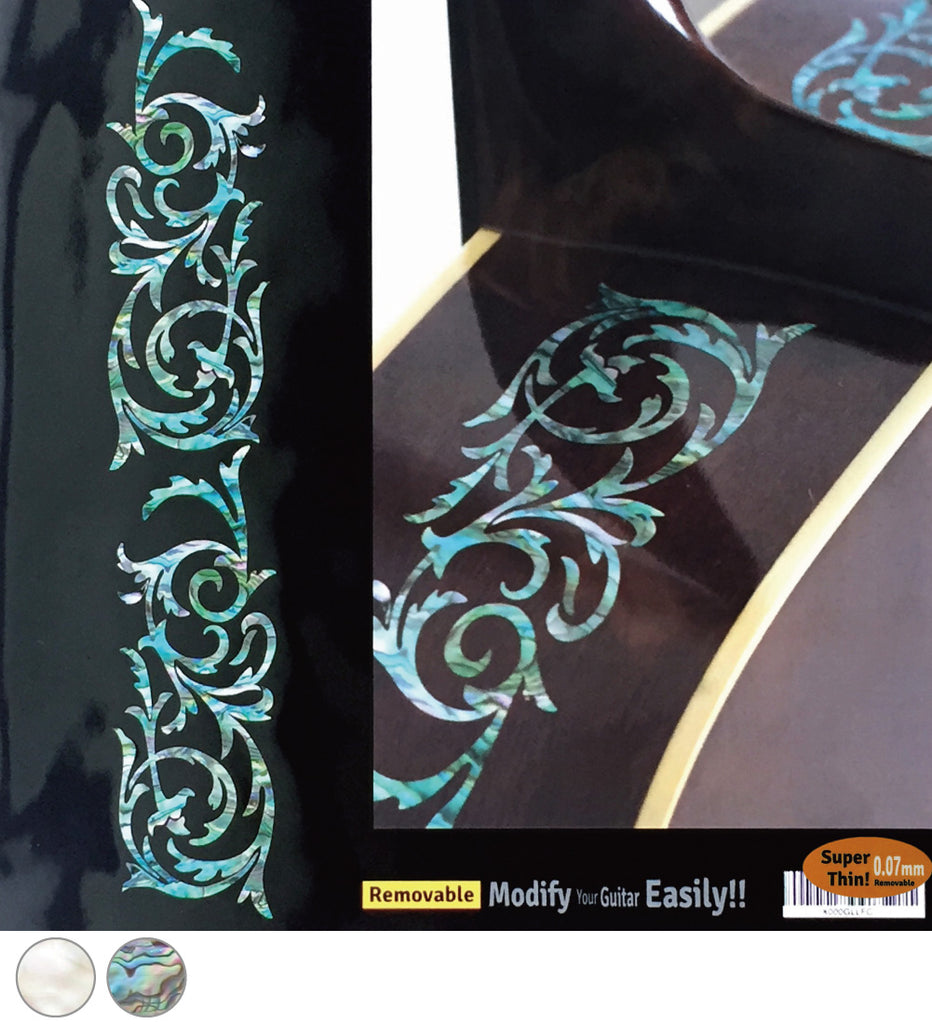 L&R Ornamental Swirls - Inlay Stickers Jockomo