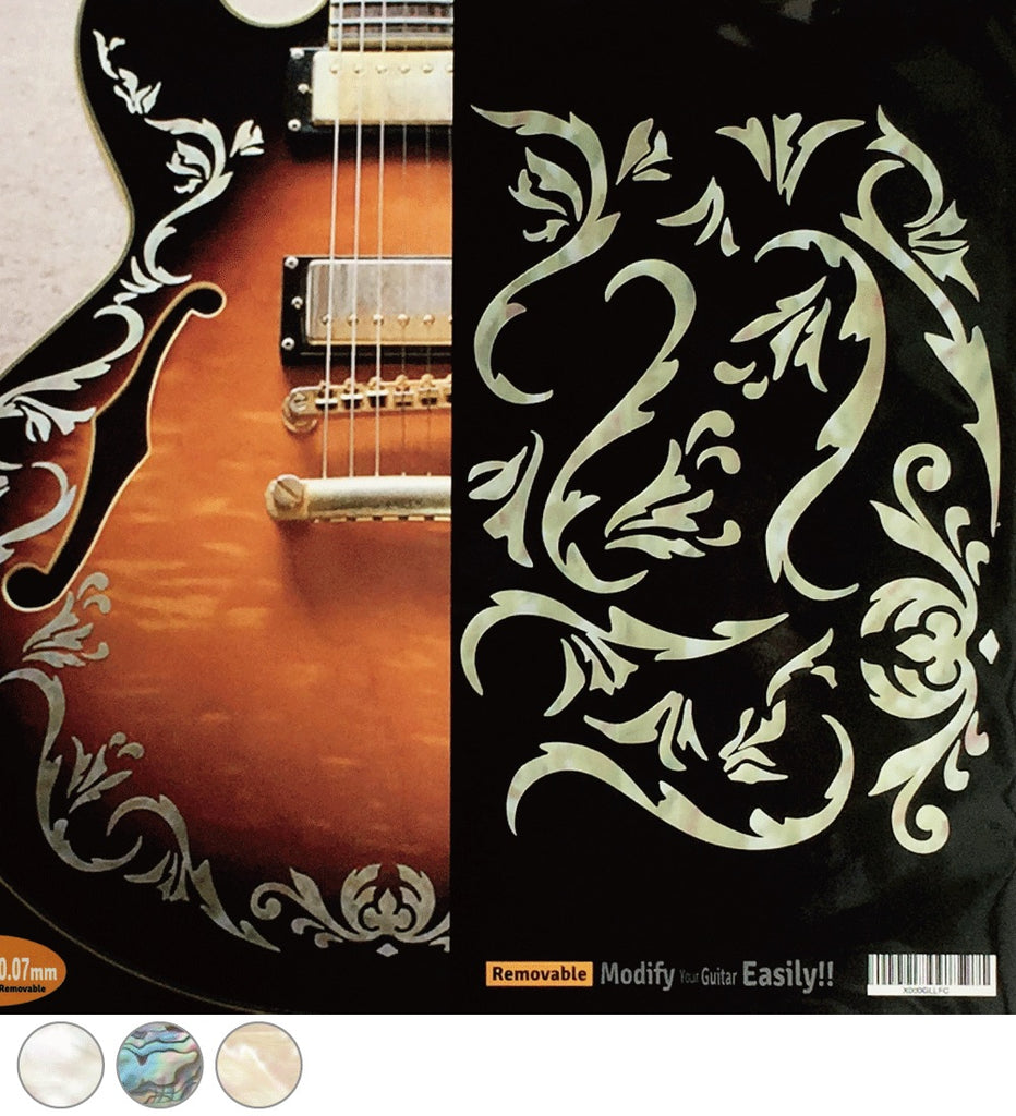 Bob Weir's Cowboy Fancy Vines - Inlay Stickers Jockomo