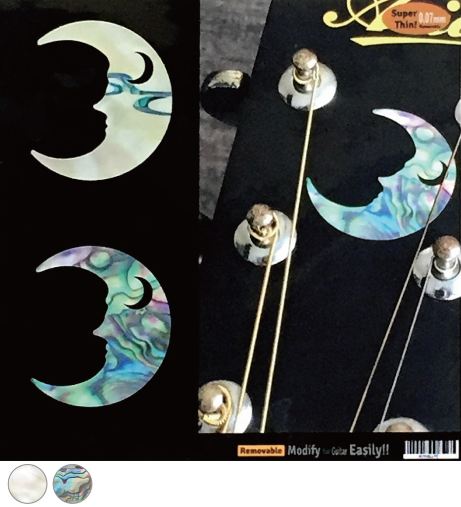 Crescent Moon Inlay Sticker - Inlay Stickers Jockomo