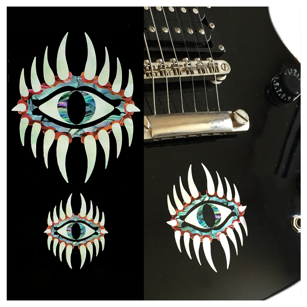 Mystic Eyes (large and small) Inlay Sticker - Inlay Stickers Jockomo