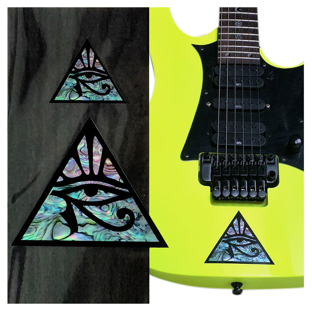 Pyramid Eye (large and small) Inlay Sticker - Inlay Stickers Jockomo