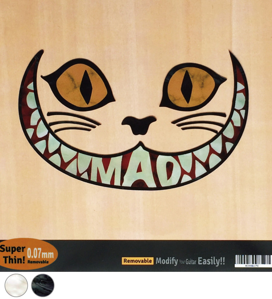 Cheshire Cat Inlay Sticker - Inlay Stickers Jockomo