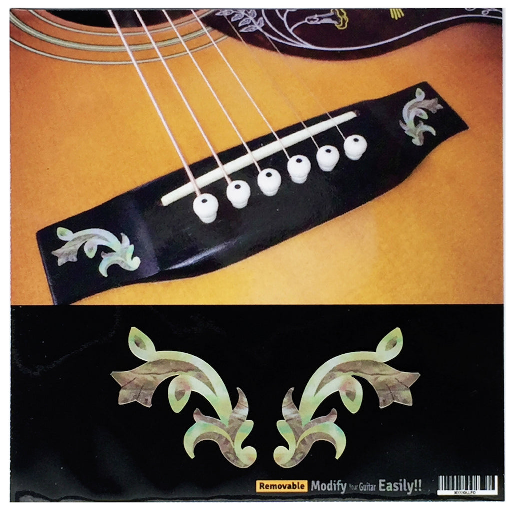 Bridge Inlay Stickers Decals Traditional 2pcs/set - Inlay Stickers Jockomo