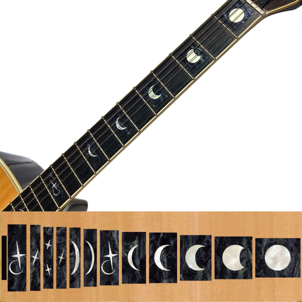 Moon Phases - Fret Markers for Guitars & Bass