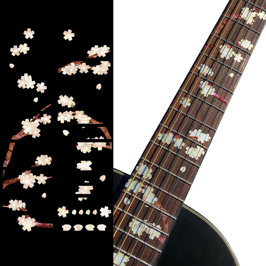 Cherry Blossom / Sakura - Fret Markers for Guitars