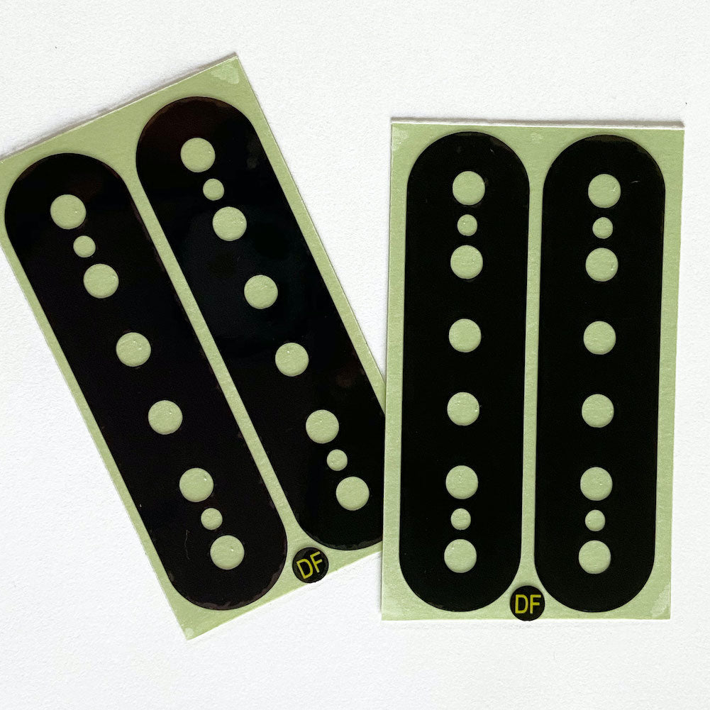 Pickup Stickers for Humbucker // DiMarzio DP100 F-Spaced