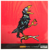 Grateful Dead Crow Inlay Sticker for Guitar, Bass & Ukulele - Inlay Stickers Jockomo