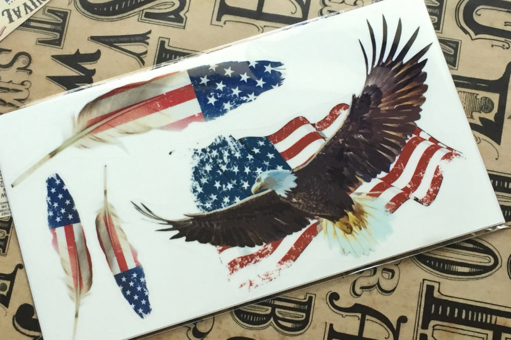 Layer Graph Sticker / American Eagle - Inlay Stickers Jockomo