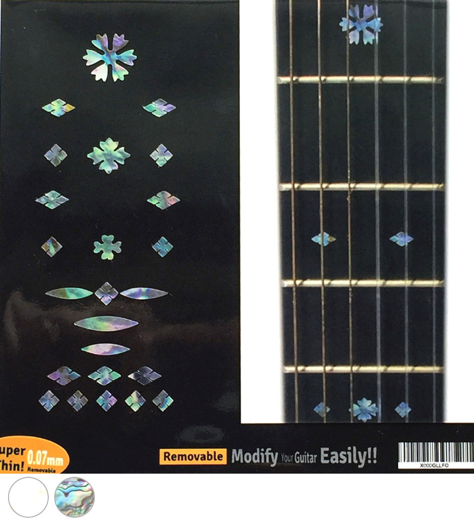 Vintage Snowflakes - Fret Markers Inlay Stickers - Inlay Stickers Jockomo
