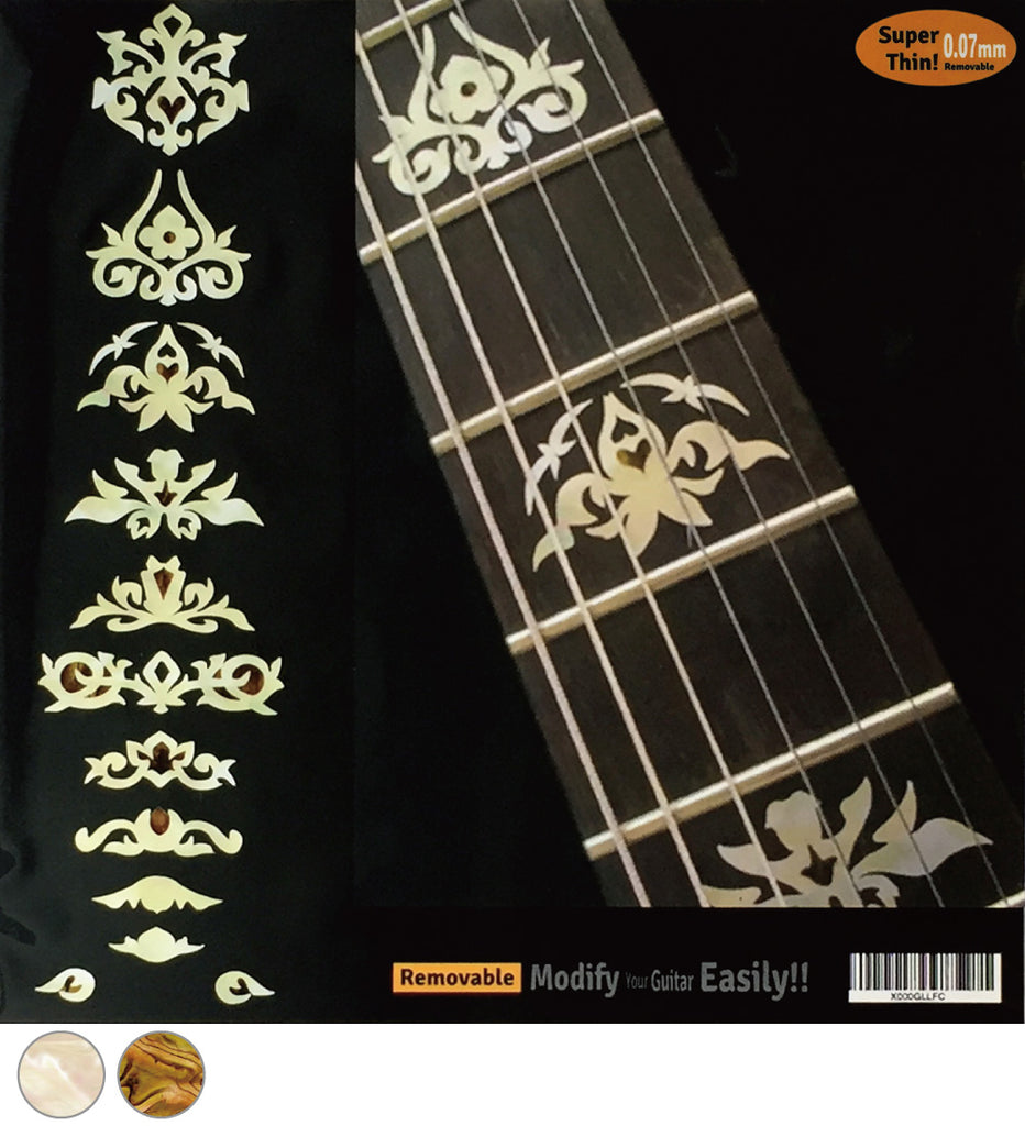 Jerry Garcia Deluxe - Fret Markers Inlay Stickers - Inlay Stickers Jockomo