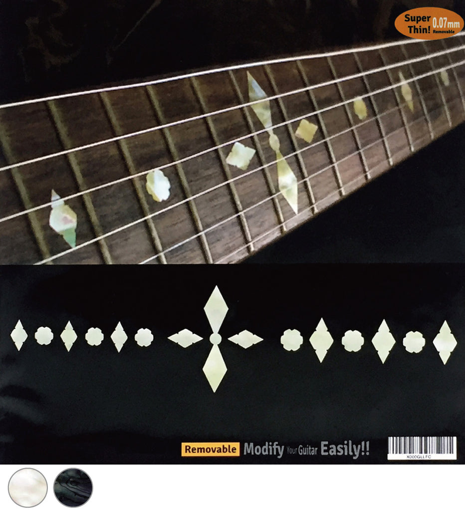 Diamond Checkers - Fret Markers for Guitars - Inlay Stickers Jockomo