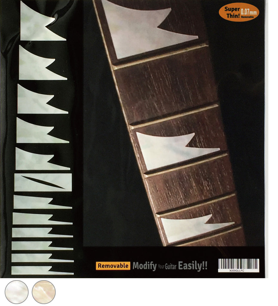 Shark Tooth - Fretboard Markers Inlay Stickers - Inlay Stickers Jockomo