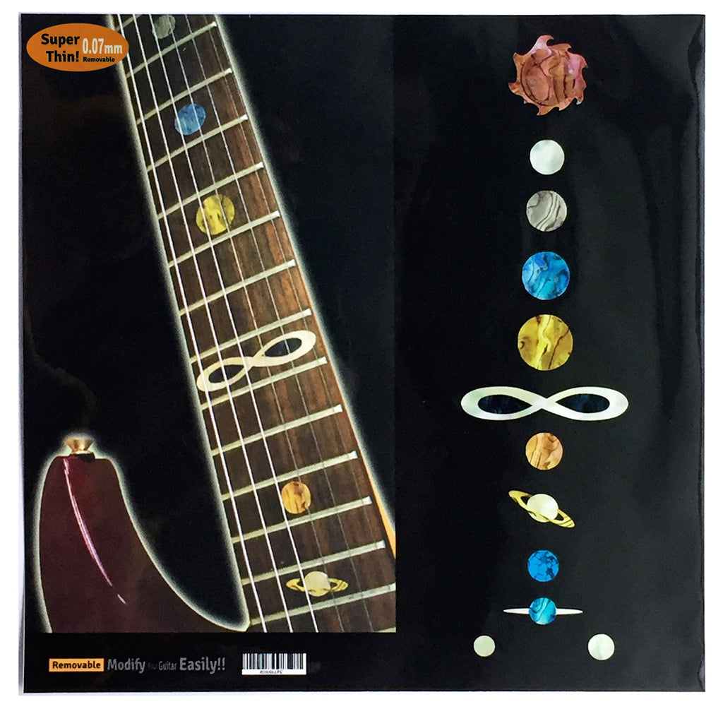 Planet Fret Markers Inlay Stickers - Inlay Stickers Jockomo