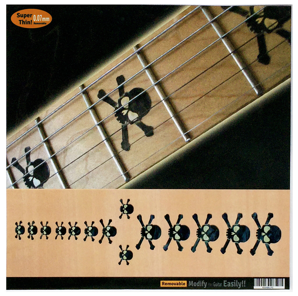 Skull - Fret Markers for Guitars & Bass - Inlay Stickers Jockomo