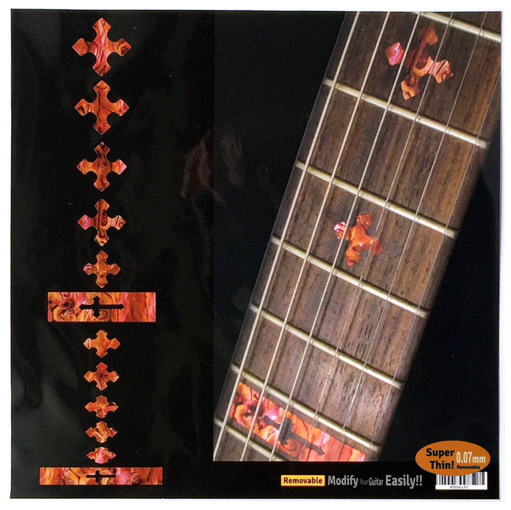 Cross Fret Markers - Inlay Stickers Jockomo
