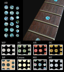 Custom Dots  Fret Markers Inlat Stickers Decals