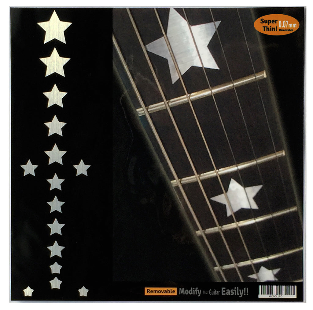 Everly Brothers Star Fret Markers Inlay Sticker - Inlay Stickers Jockomo