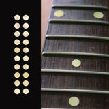 "1/4""(6.35mm) Dots Fretboard Markers Inlay Sticker Decals 20pcs in a pack"