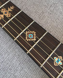 Native American Style Ethnic Pattern Fret Markers For Guitar (Natural)