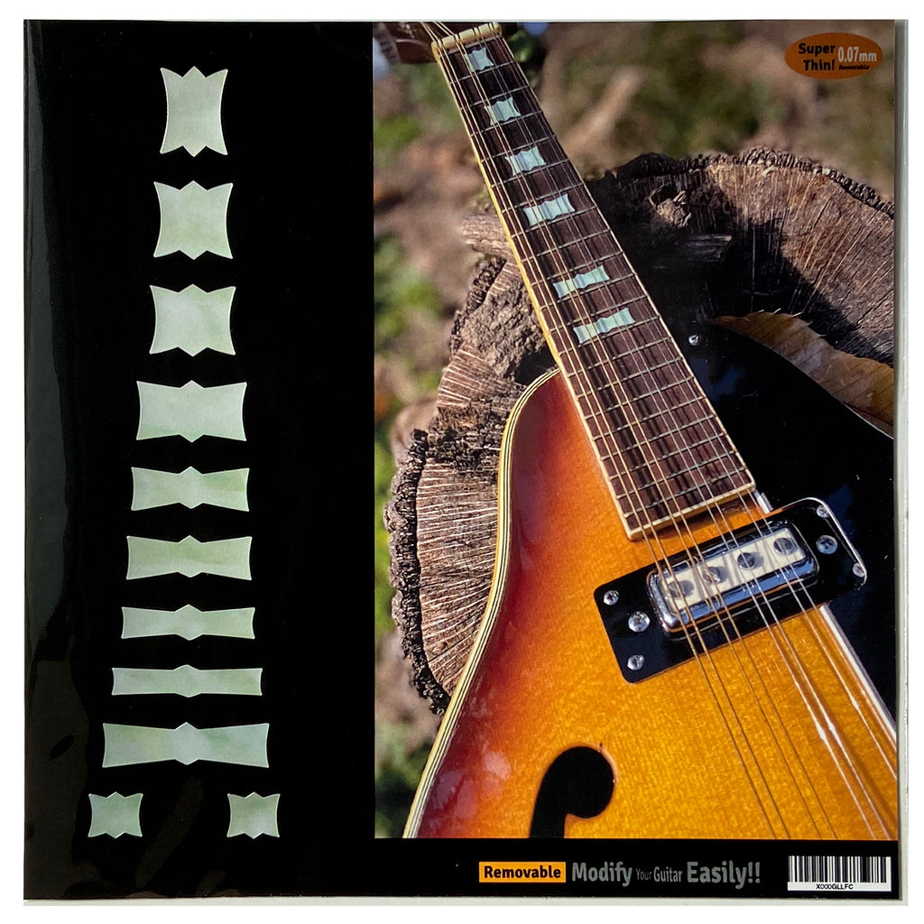 Bow Tie Blocks - Fret Markers for Mandolins & Ukuleles - Inlay Stickers Jockomo