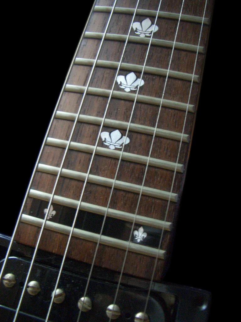 Fleur de Lys - Fret Markers for Guitars & Bass - Inlay Stickers Jockomo
