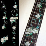 Gypsy Rose Fret Markers Inlay Sticker For Guitar