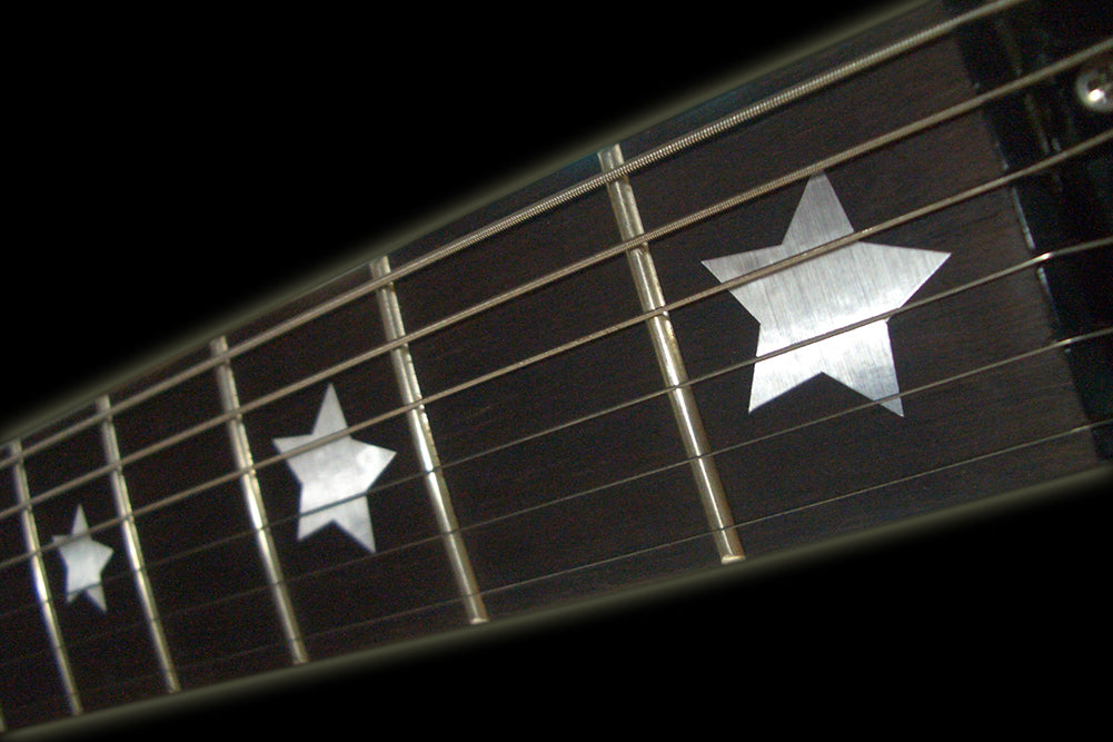 Everly Brothers Stars - Fret Markers for Guitars & Bass - Inlay Stickers Jockomo