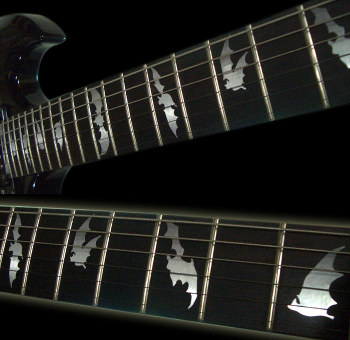 Bat Wings - Fret Markers Inlay Stickers Decals - Inlay Stickers Jockomo
