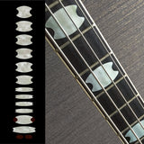Oval Crown Fret Markers Inlay Sticker For Bass
